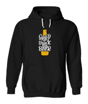 Good People Drink Good Bear, Men's Hoodies