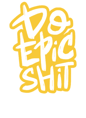 Do Epic Shit, Women's Round Neck T-shirt