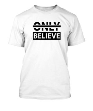 Believe, Men's Round T-shirt