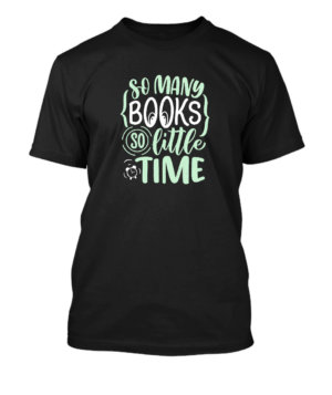 So many books, Men's Round T-shirt