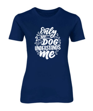 Dog Lover, Women's Round Neck T-shirt