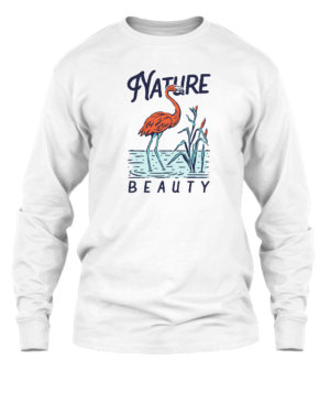 Nature Beauty, Men's Long Sleeves T-shirt