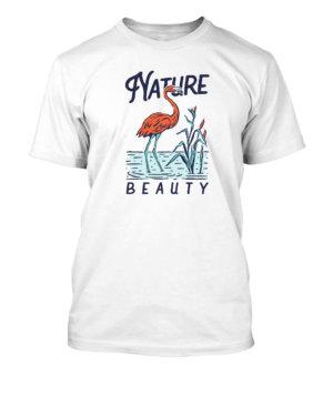 Nature Beauty, Men's Round T-shirt