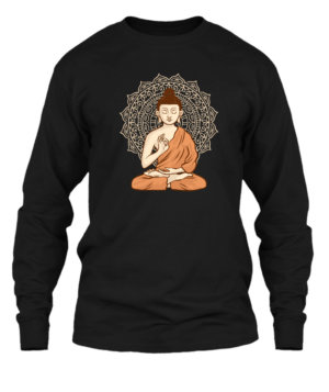 Gautam Buddha, Men's Long Sleeves T-shirt