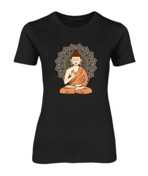 Gautam Buddha, Women's Round Neck T-shirt
