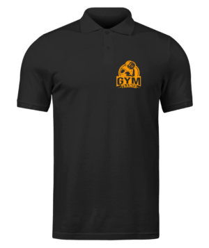 Gym Trainer, Men's Polo Neck T-shirt
