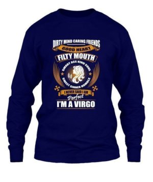 Im an Virgo, Men's Long Sleeves T-shirt
