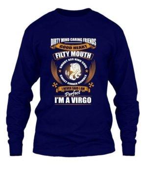 Im an Virgo, Men's Long Sleeves T-shirt