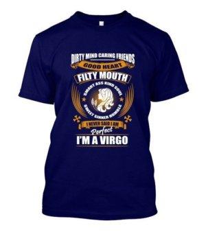 Im an Virgo, Men's Round T-shirt