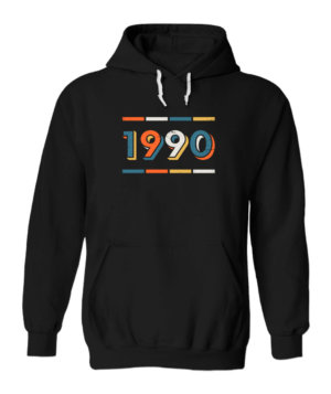 1990, Men's Hoodies