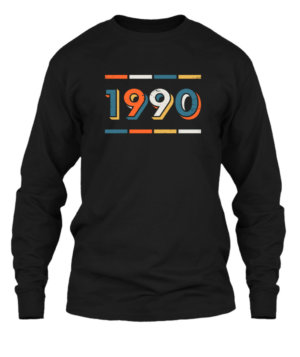 1990, Men's Long Sleeves T-shirt