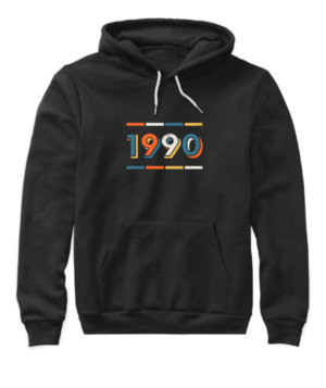 1990, Women's Hoodies