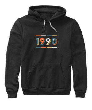 1990, Women's Hoodies