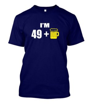 Im 49+, Men's Round T-shirt