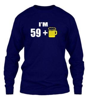 Im 59+, Men's Long Sleeves T-shirt