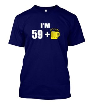 Im 59+, Men's Round T-shirt