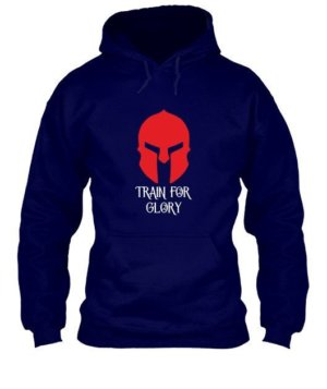 Train For Glory, Men's Hoodies
