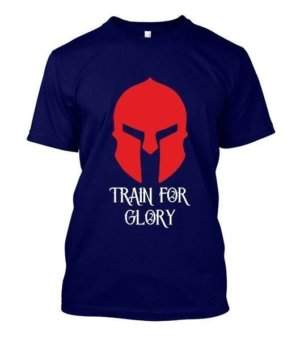 Train For Glory, Men's Round T-shirt