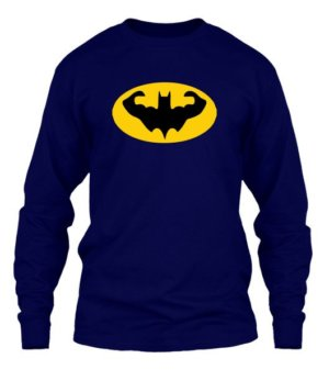 Batman Gym Tshirt, Men's Long Sleeves T-shirt