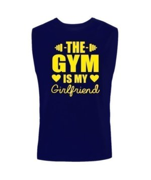 The Gym is my girlfriend, Men's Sleeveless T-shirt