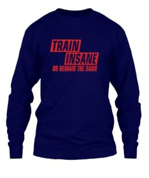 TRAIN INSANE, Men's Long Sleeves T-shirt
