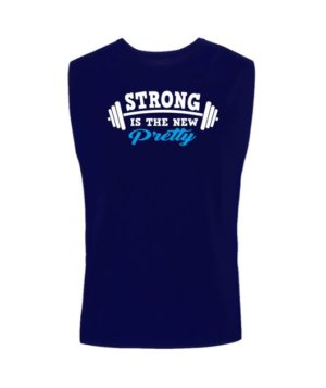 Strong is the new pretty, Men's Sleeveless T-shirt