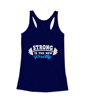 Strong is the new pretty, Women's Round Neck T-shirt