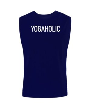 YOGAHOLIC, Men's Sleeveless T-shirt