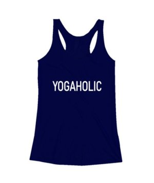 YOGAHOLIC, Women's Tank Top