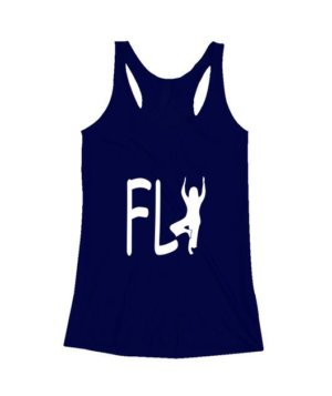 Fly yoga, Men's Round T-shirt