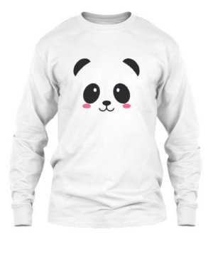 Panda Tank Top, Men's Long Sleeves T-shirt