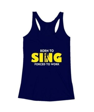 BORN TO SING , Women's Tank Top