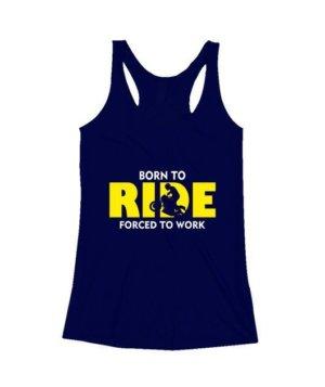 BORN TO RIDE, Men's Round T-shirt