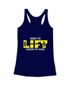 BORN TO LIFT, Women's Tank Top