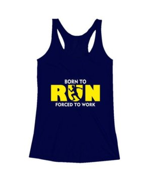 BORN TO RUN, Women's Tank Top