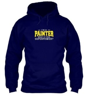 I am a Painter, Men's Hoodies