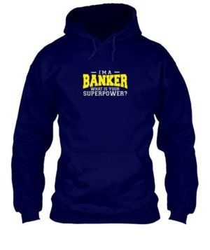 I am a Banker, Men's Hoodies