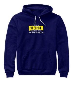 I am a Singer, Women's Hoodies