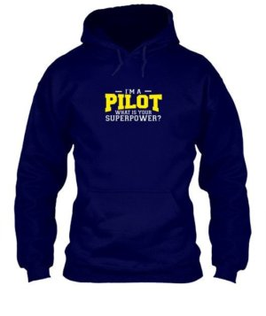 I am a Pilot, Men's Hoodies