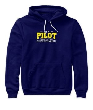 I am a Pilot, Women's Hoodies