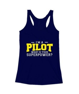 I am a Pilot, Women's Tank Top