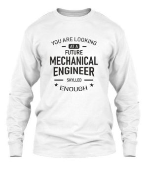 Future Mechanical Engineer, Men's Long Sleeves T-shirt