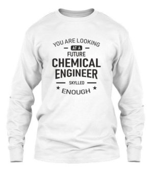 Future Chemical Engineer, Men's Long Sleeves T-shirt