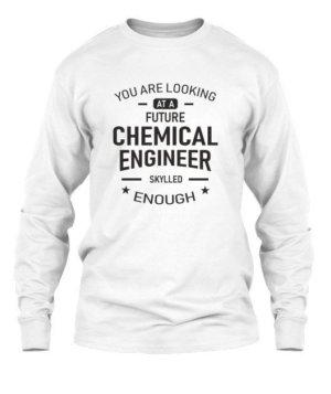 Future Chemical Engineer, Men's Long Sleeves T-shirt