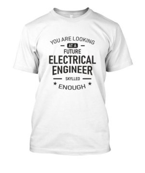 Future Electrical Engineer, Men's Round T-shirt