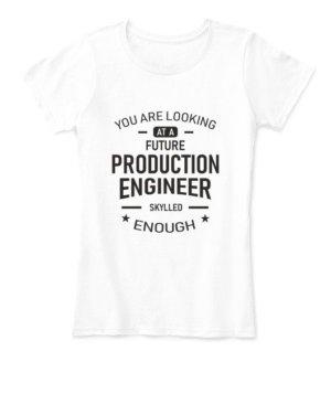 Future Production Engineer, Women's Round Neck T-shirt