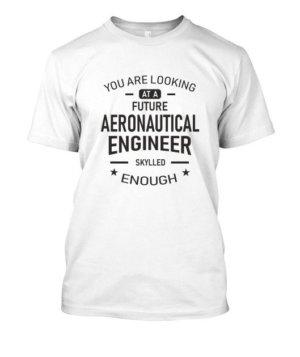 Future Aeronautical Engineer, Men's Round T-shirt