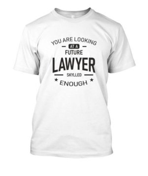 Future Lawyer, Men's Round T-shirt
