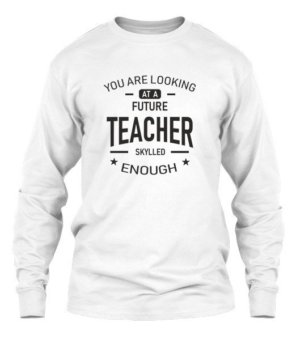 Future Teacher, Men's Long Sleeves T-shirt