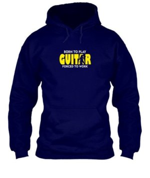BORN TO PLAY GUITAR, Men's Hoodies